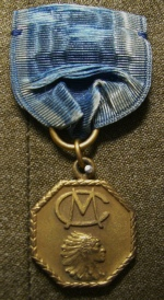 Crescent M Badge, c 1940 , Image Courtesy of the Adam Lombard Collection