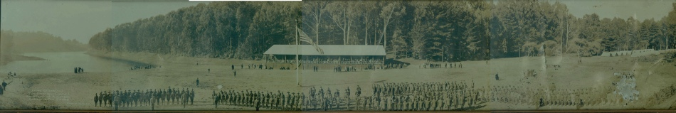 Camp Lilienthal on opening day 1919