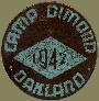 Camp Dimond Patch (c 1942)